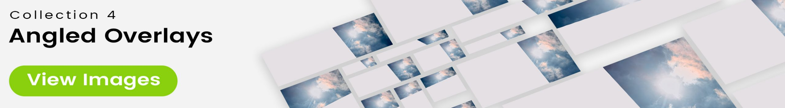 See 25 bonus images included with clouds stock image 9461. Collection 4 of 4 features an angled overlay design customized with a color that complements each photo.