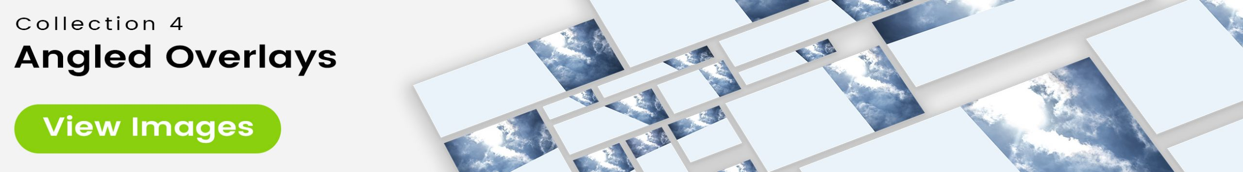 See 25 bonus images included with clouds stock image 9462. Collection 4 of 4 features an angled overlay design customized with a color that complements each photo.