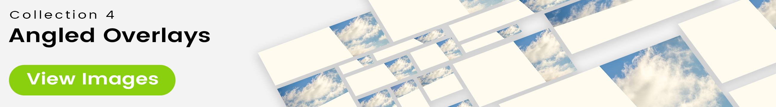 See 25 bonus images included with clouds stock image 9464. Collection 4 of 4 features an angled overlay design customized with a color that complements each photo.