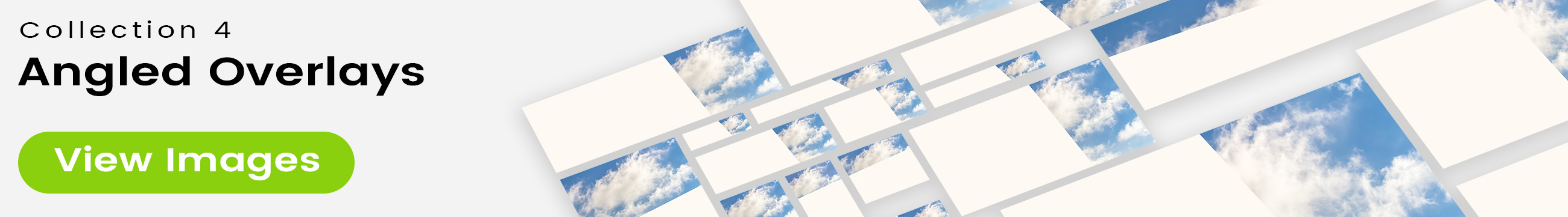 See 25 bonus images included with clouds stock image 9465. Collection 4 of 4 features an angled overlay design customized with a color that complements each photo.