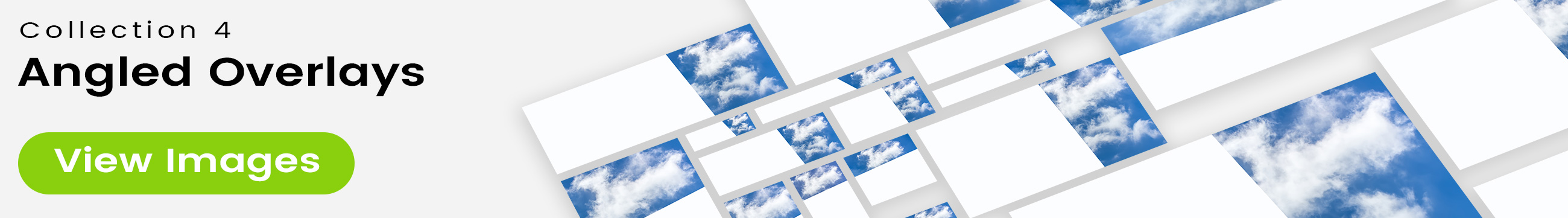 See 25 bonus images included with clouds stock image 9473. Collection 4 of 4 features an angled overlay design customized with a color that complements each photo.
