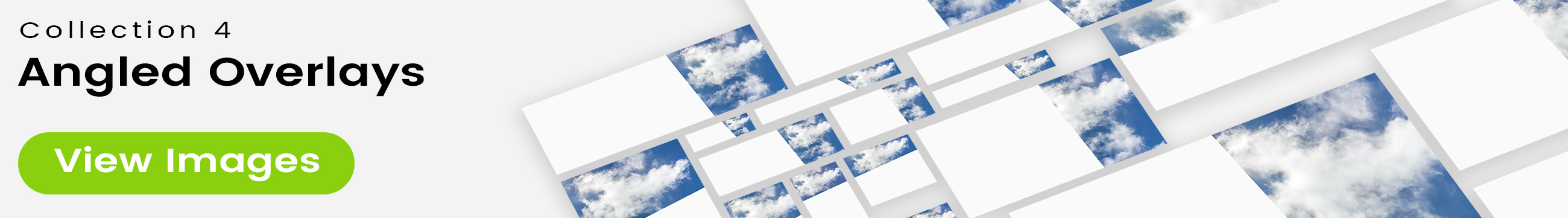 See 25 bonus images included with clouds stock image 9474. Collection 4 of 4 features an angled overlay design customized with a color that complements each photo.