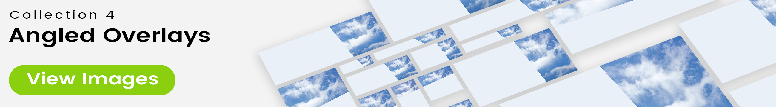 See 25 bonus images included with clouds stock image 9482. Collection 4 of 4 features an angled overlay design customized with a color that complements each photo.