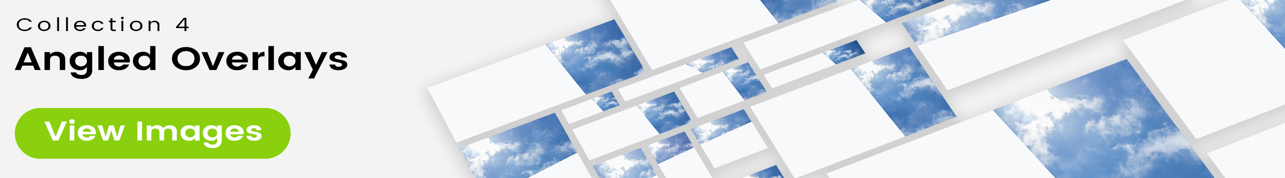 See 25 bonus images included with clouds stock image 9484. Collection 4 of 4 features an angled overlay design customized with a color that complements each photo.