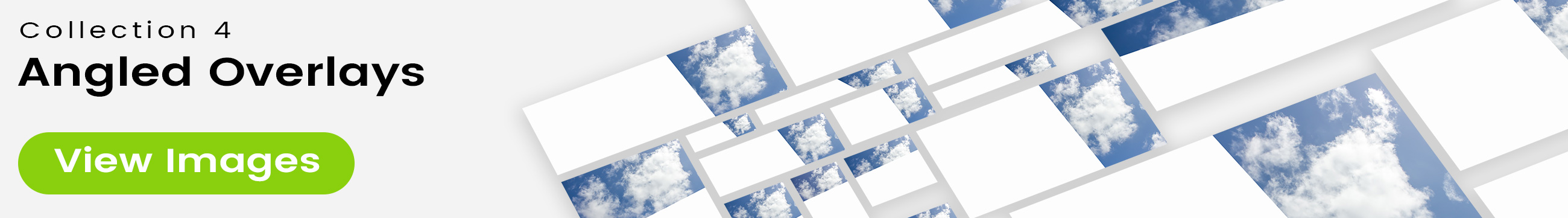 See 25 bonus images included with clouds stock image 9485. Collection 4 of 4 features an angled overlay design customized with a color that complements each photo.