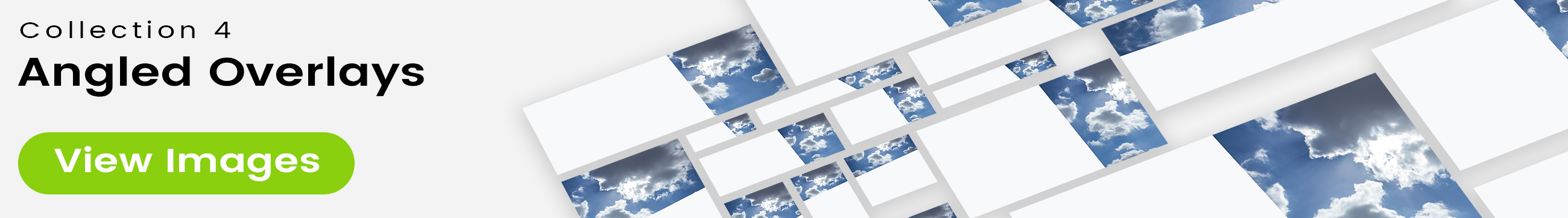 See 25 bonus images included with clouds stock image 9500. Collection 4 of 4 features an angled overlay design customized with a color that complements each photo.