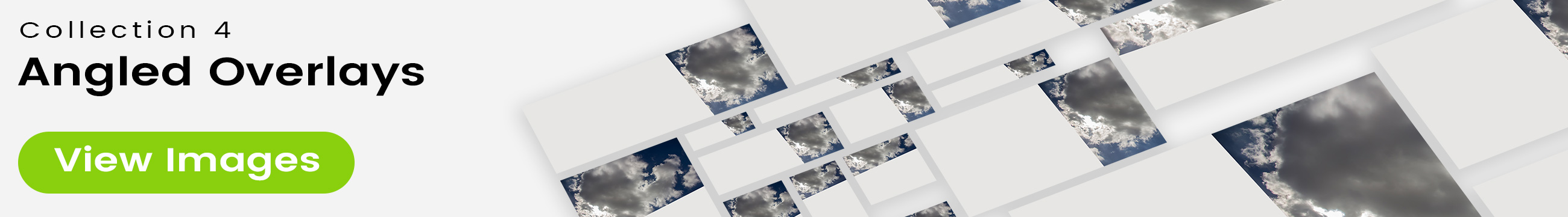 See 25 bonus images included with clouds stock image 9503. Collection 4 of 4 features an angled overlay design customized with a color that complements each photo.
