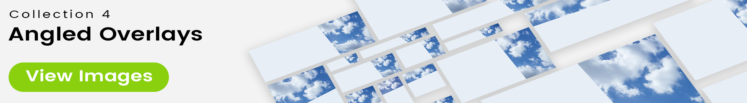 See 25 bonus images included with clouds stock image 9504. Collection 4 of 4 features an angled overlay design customized with a color that complements each photo.